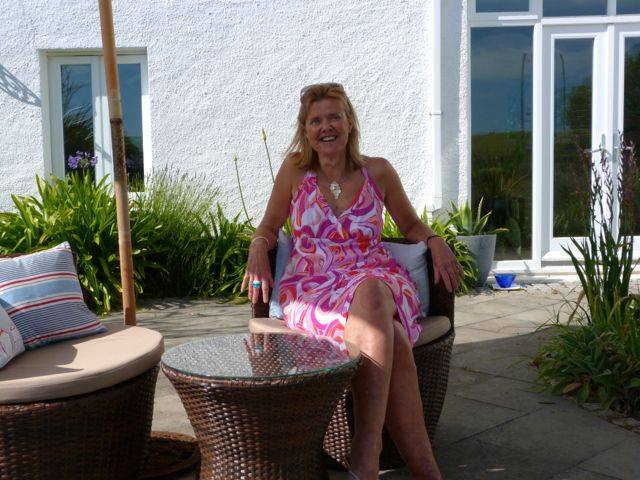 Katherine owner of Manorbier Accommodation